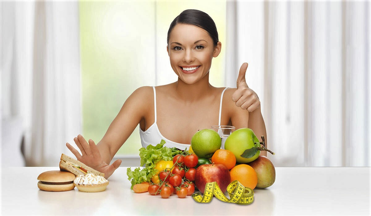 How to lose weight at home with a healthy diet?