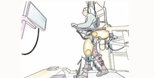 Robotic Walking Devices with Paralysis Treatment